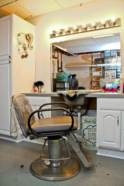 home salon design. I need this built in sink  no more ghetto kitchen haha In Home SalonHome Best 25 home salon ideas on Pinterest Coffee nook Tea
