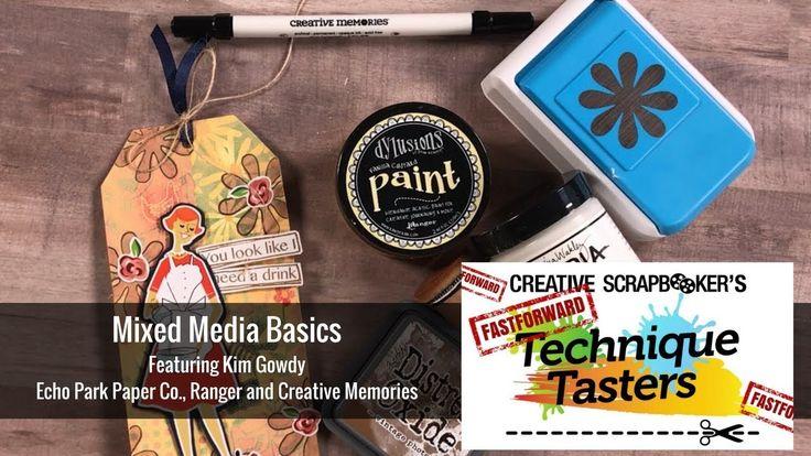 Basic Mixed Media Techniques - FastForward #17