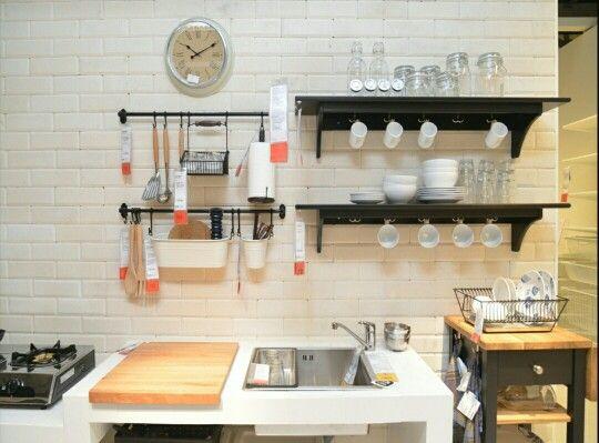 17 Terbaik ide tentang Dapur Ikea di Pinterest  Dapur, Ikea, dan Kabinet