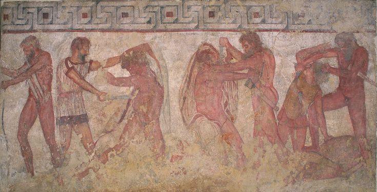 La tomba François - Soprintendenza archeologia, belle arti e paesaggio per l'area metropolitana di Roma, la provincia di Viterbo e l'Etruria meridionale