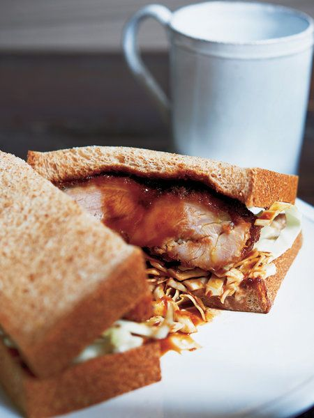 【ELLE a table】チキンカツサンドレシピ|エル・オンライン