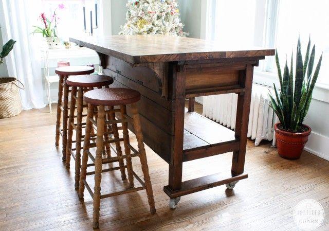 Kitchen kitchens islands crafts tables updates workspaces crafty