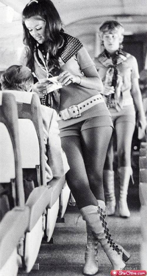 It hurts the soul to think they're vintage.... Vintage stewardesses