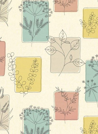 b387910c8b02f35e1976ab673d3cff4d  little greene nature pattern - Tapete Florales Muster