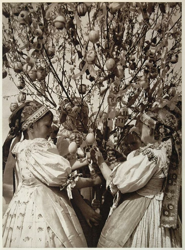 Easter Eggs Slovakia | Details about 1953 Slovakian Children Costume Kroje Easter Slovakia ...