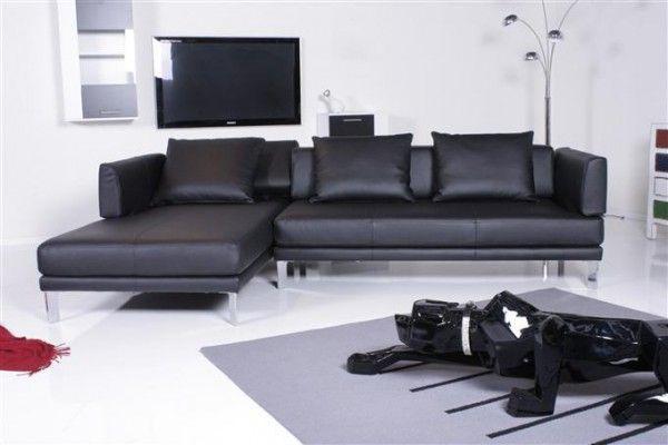 couches to enjoy the rolf benz sofa 344 sento ecksofa leder schwarz recamiere links. Black Bedroom Furniture Sets. Home Design Ideas