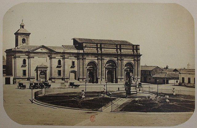 Plaza de armas 1860.