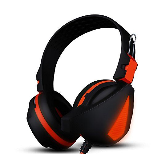 FarCry 5 Gamer  #Gaming #Headset, #Amuoc Covann-X17 #Professional #Stereo #Bass #Headset #Wired with #Microphone for #PC #Gaming #Headphone #Telescopic #Design   Price:     This stylish and trendy over-the-head, around-the-ear style adjustable circumaural #headphone provide great sound quality while playing games on your devices. With gold plated 3.5mm plug, volume control and omnidirectional #microphone. Features: * 40mm drive unit for more thrilling #bass effect. * Ergonomi