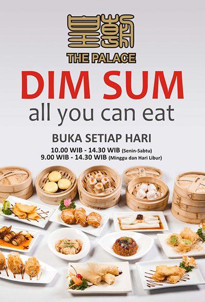 [Exclusive] Another Fantastic Deal All You Can Eat Dimsum Di The Palace Hotel Emerald Garden Medan. Hanya Rp. 68.000,-nett / Orang