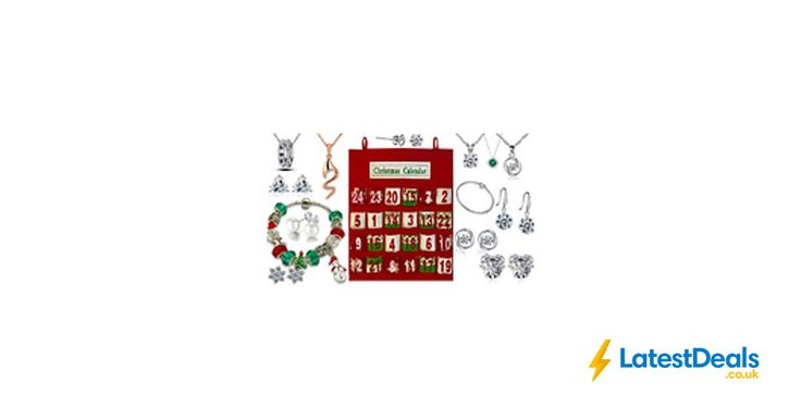 Limited Edition Jewellery Advent Calendar 24 Gifts With Crystals from Swarovski®, £24.99 at Go Groopie