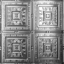 12004 Tin Ceiling Tile - Tropical Fantasy-- bathroom remodel ceiling idea. decorativeceilingtiles.net
