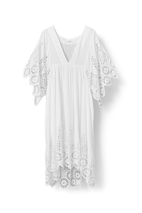 Yoko Lace Dress, Egret