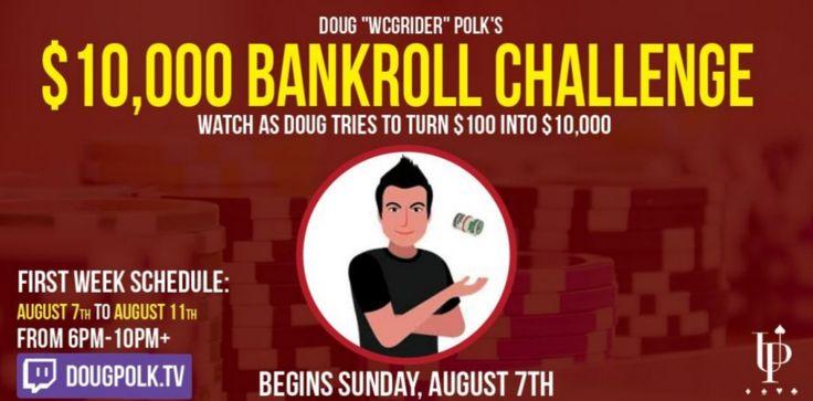 Слив за один день большую часть банкролла и практически вернувшись к сумме депозита, Дуглас Полк решил поставить свой марафон на паузу и спокойно покатать WCOOP.