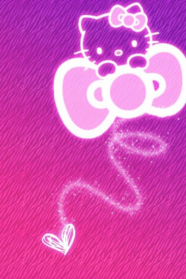 iphone壁纸 背景 hello kitty