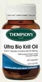 Thompsons Ultra Bio Krill Oil 60 Capsules