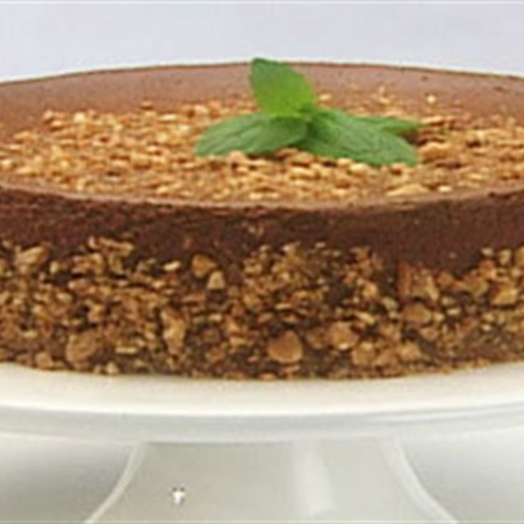 Try this Irish Cream Cheesecake recipe by Chef Anna Olson. This recipe is from the show Sugar.