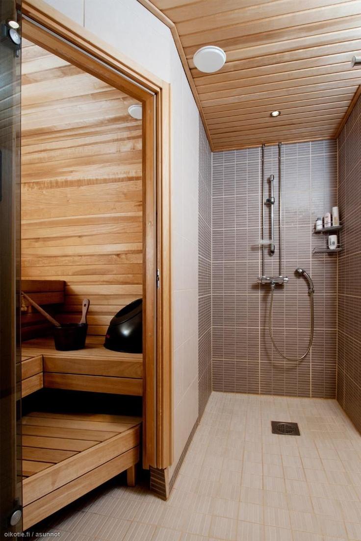 Sauna Stove in master bath