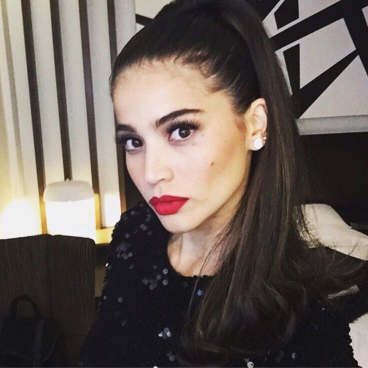 6 Celebs Who Nailed the Ariana Grande Beauty Look- Anne Curtis-Smith