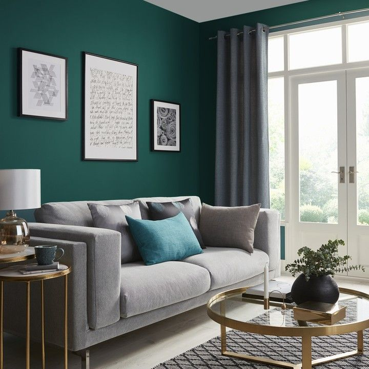 B Q On Instagram Step Back In Time With This 1920s Inspired Look Bold Colour Schemes Met In 2020 Living Room Decor Colors Living Room Decor Modern Blue Living Room