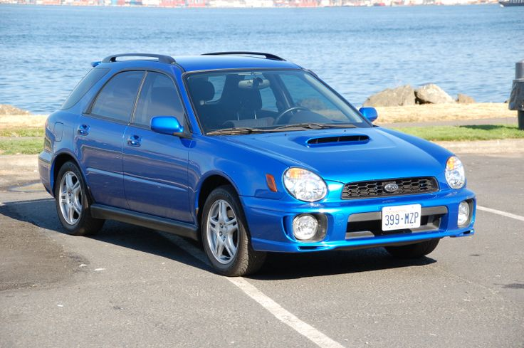 2002 WRX wagon: sold in 2006