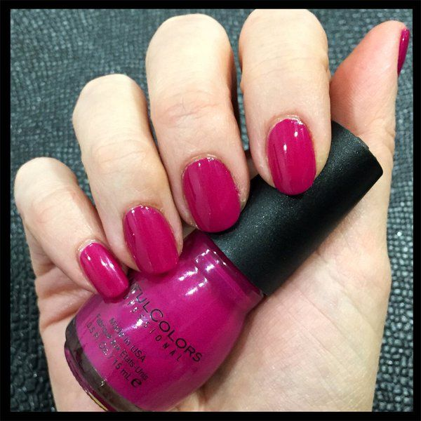 sinful colors nail polish in poisonberry