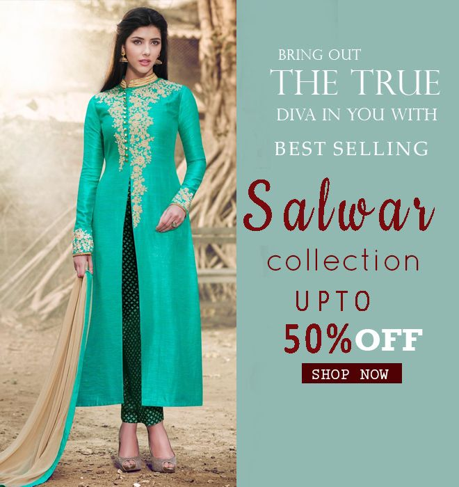 MORPEACH COLOR SALWAR SUIT SALE UP TO 50% OFF!!! HURRY UP! http://www.fly2kart.com/catalog/product/view/id/44447/category/150/?utm_content=bufferfda80&utm_medium=social&utm_source=pinterest.com&utm_campaign=buffer