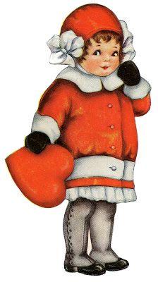 Stock Images Valentine Girl Vintage