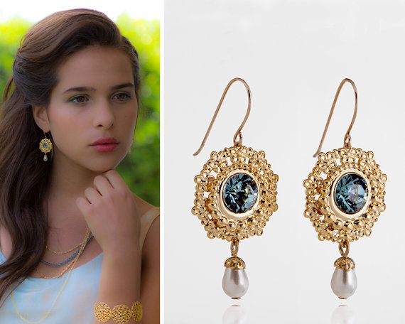 Something blue wedding, Something blue jewelry, #weddings #jewelry @EtsyMktgTool http://etsy.me/2fZBQqZ