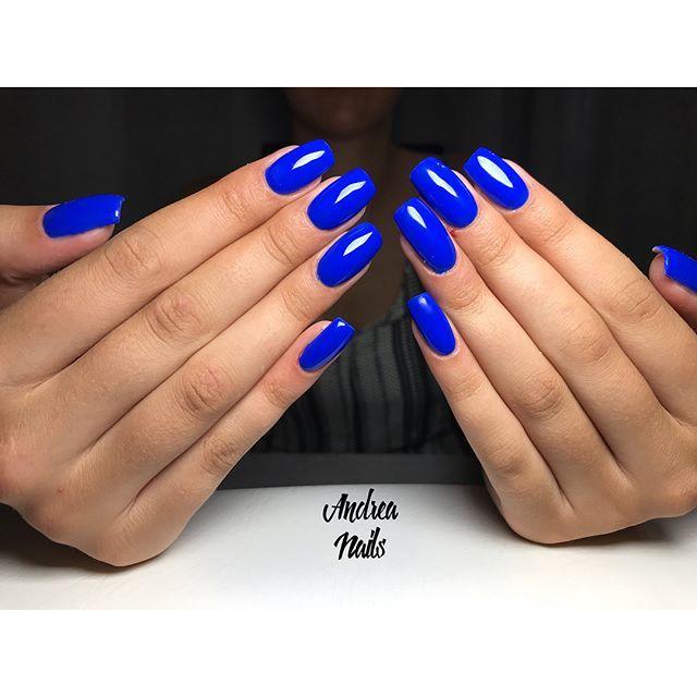 J Laque 46 Royal Blue Nails Pretty Acrylic Nails Classy Nails