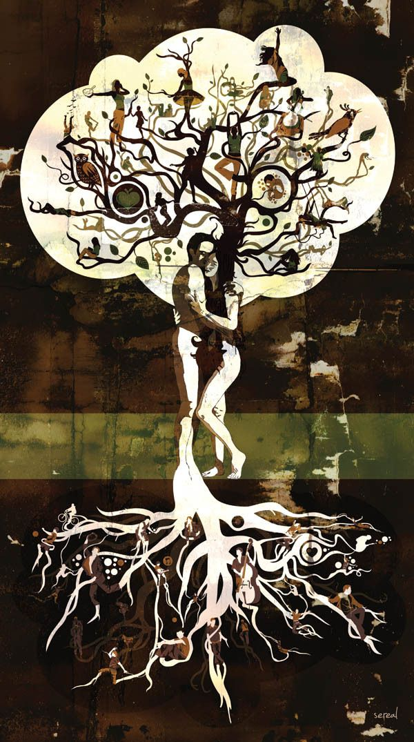 Tree of Life by Sereal  Designers , via Behance