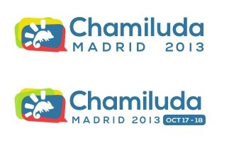 Chamiluda Madrid 2013 Logo, Web Design and html/css of the site.