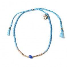 Støy - Facet Multi Bracelet - turquoise