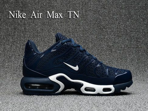 reputable site 463b3 a66c0 Men Nike Air Max Plus Tn Ultra Dark Blue White Shoe