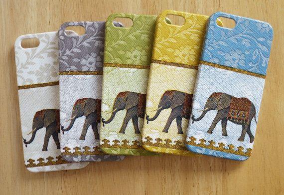 iPhone 5 case  ElephantWhite /  Elephant iPhone 5 case/ by WrapAll, $16.50