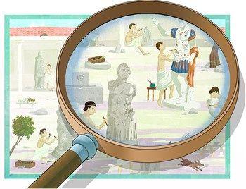 Vanaf 1 september leren uw leerlingen in deze museumles het verhaal achter de klassieke kunstvoorwerpen in het museum. In de tijd van de Grieken en de Romeinen werden ambachtslieden weinig gewaardeerd, maar gelukkig is dat nu anders. De kijkplaten van verschillende werkplaatsen laten uw leerlingen kennismaken met de ambachten. Ze kijken vervolgens met een nieuwe blik naar de voorwerpen. | Rijksmuseum van Oudheden