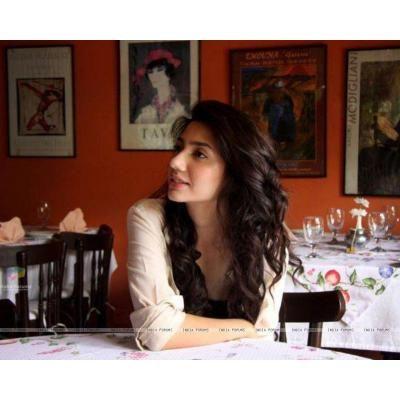 Mahira khan in india