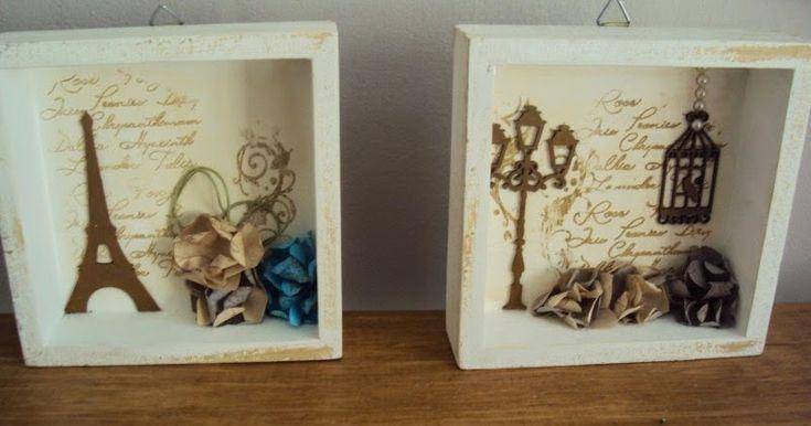 Re-inventos : caixa transformada em nichos