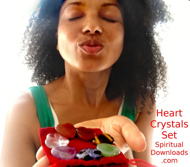 Heart Shaped Chakra Crystal Set <3 <3 <3 http://SpiritualDownloads.com  <3 <3 <3   #CrystalHealing #HealingCrystals #VictoriaVivesKhuong #VictoriaVives