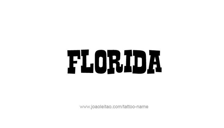 1000  ideas about florida tattoos on pinterest