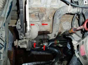 Замена помпы на Volkswagen Passat B3