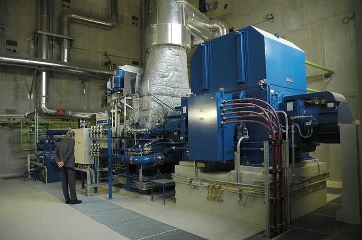 Dampfturbine 5 MW mit ELIN Generator - Steam turbine - Wikipedia, the free encyclopedia