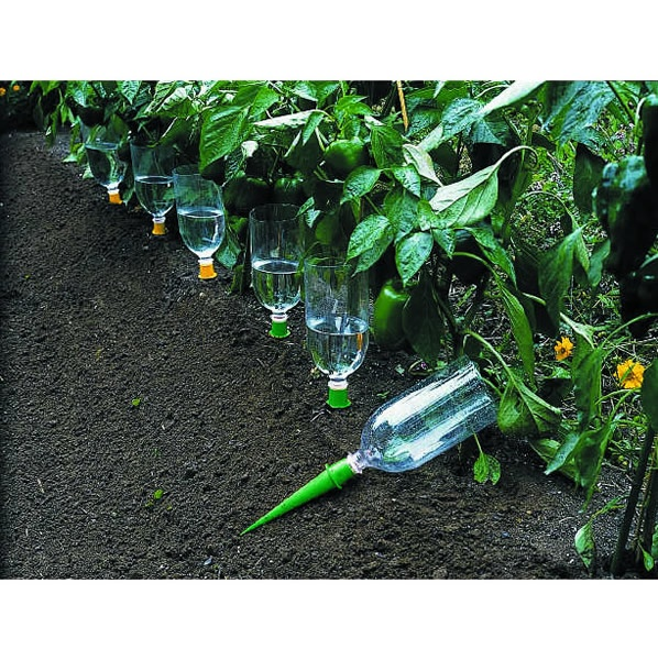 Self-watering bottles for garden...