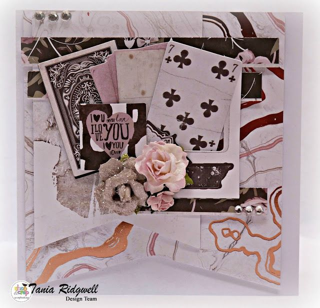 Tania's Creative Space: Shop and Crop July DT Second Reveal - Showcasing the Rose Quartz Crop Kit