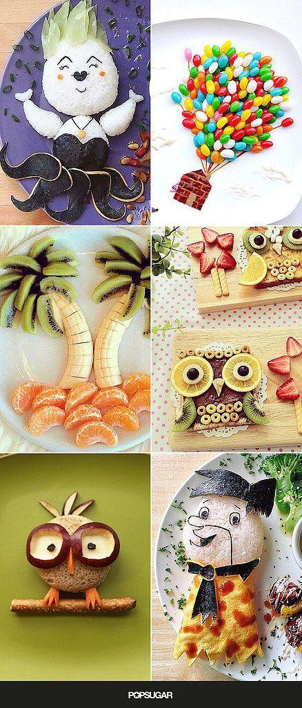 Bon Appétit! 23 Incredible Food Art Ideas For Kids