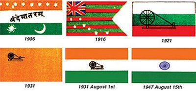 My views: Independence Day (History Of Indian Flag)