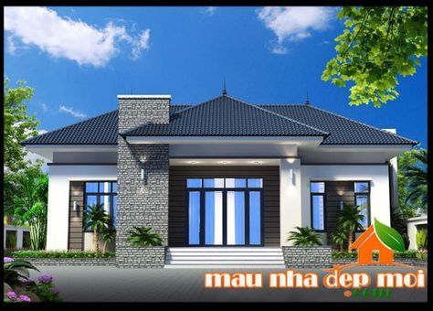 Bản vẽ mẫu biệt thự vườn 1 tầng đẹp mái thái tại Trảng Bàng-Tây Ninh  http://maunhadepmoi.com/ban-ve-mau-biet-thu-vuon-1-tang-dep-mai-thai-tai-trang-bang-tay-ninh.html