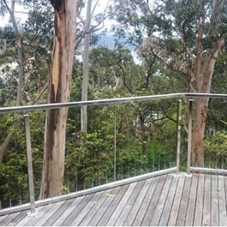 New stainless balustrade with vertical wire in Lorne today #lorne #stainless #balustrade by instylestainless http://ift.tt/1IIGiLS