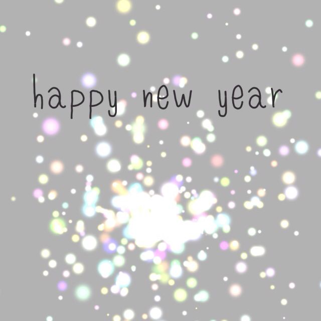 Happy New Year! Looking forward to all the new things happening in 2016 ❤️❤️