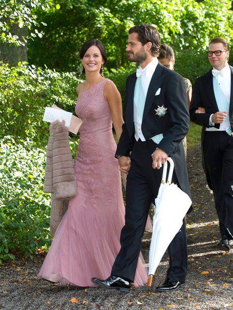 Sofia Hellqvist und Prinz Carl Philip von Schweden...