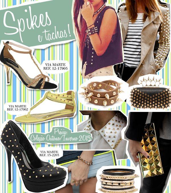 #spikes #tachas #moda #fashion #tendência